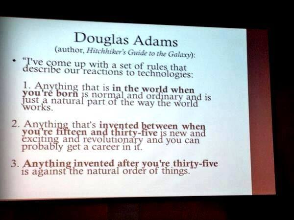 Douglas Adams über Technik