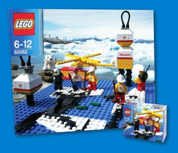 LEGO Shell Set von Greenpeace