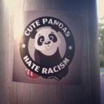 Cute pandas hate racism