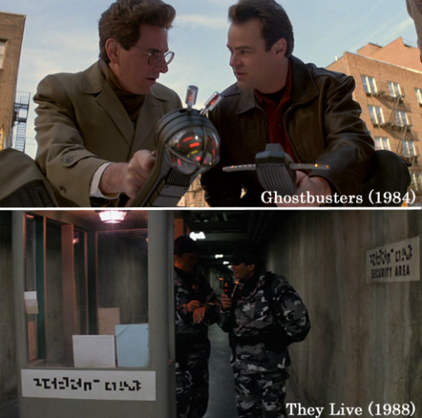 PKE in Ghostbusters und They Live