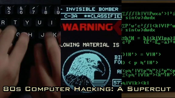 Hacking Supercut - Hacken in den 80ern