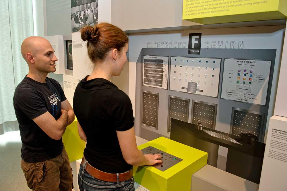 Nimrod im Computerspielemuseum