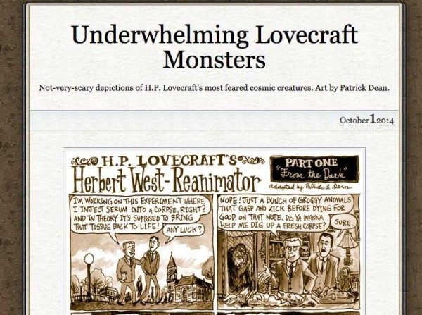 Underwhelming Lovecraft Monsters
