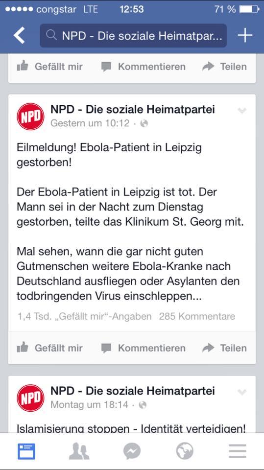 Screenshot NPD