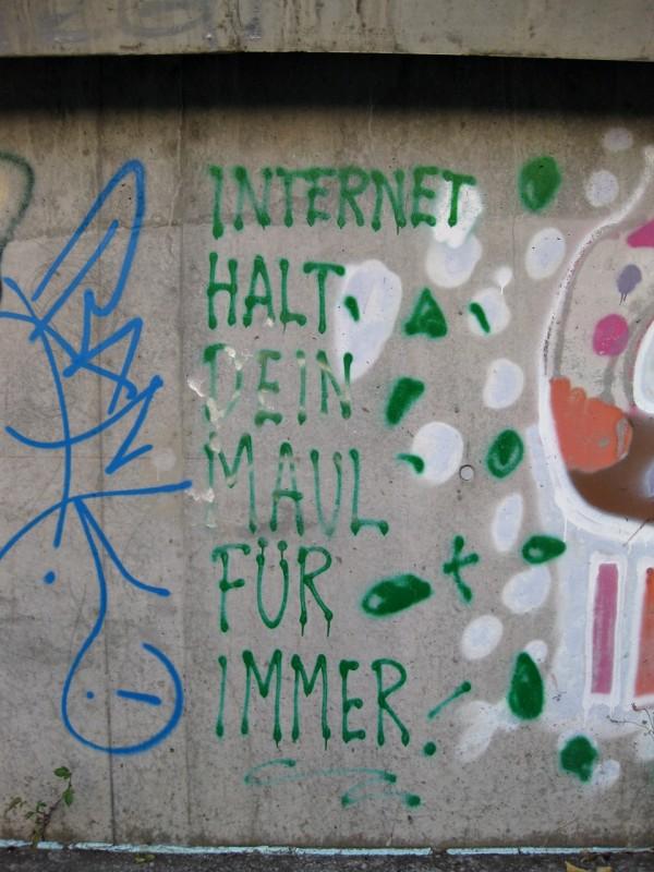 Internet Halt Dein Maul Für Immer!