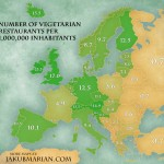 Vegetarische Restaurants in Europa