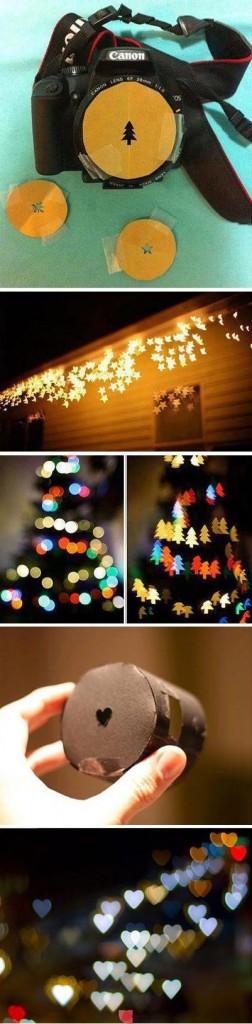 DIY Weihnachts-Fotoblenden