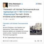 Tweet von Erika Steinbach