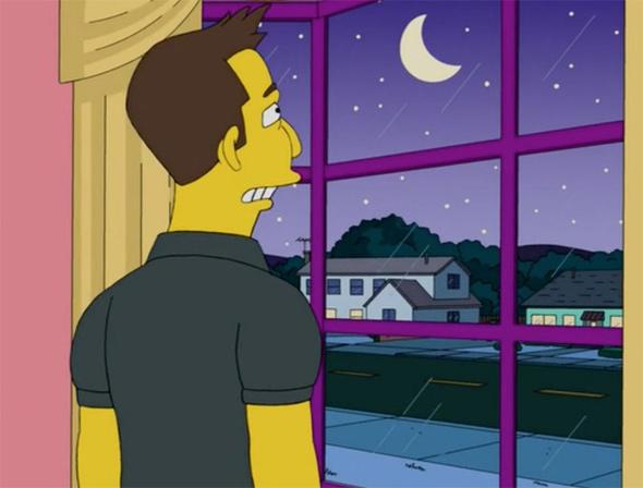 Der Mond bei den Simpsons