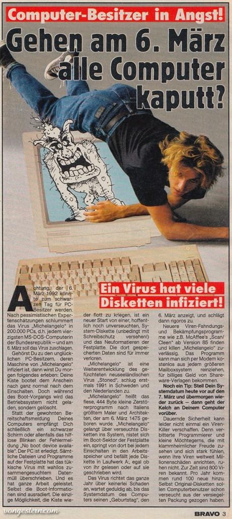 Gehen am 6. März alle Computer kaputt?!