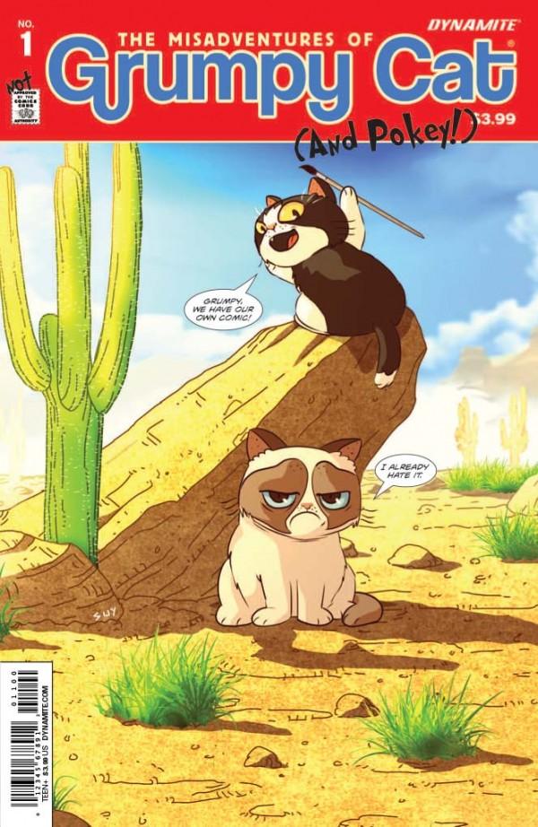 Comiccover von Grumpy Cat