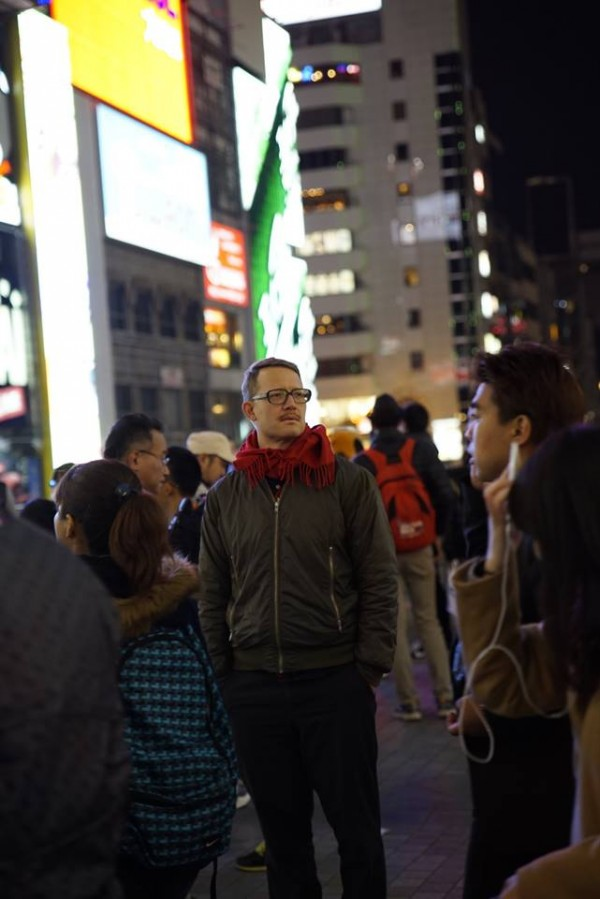 Thomas Venker in Osaka, Japan
