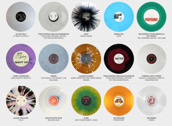 Colored Vinyl Records: Online-Archiv für farbige Schallplatten ...