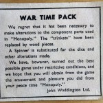 War Time Monopoly