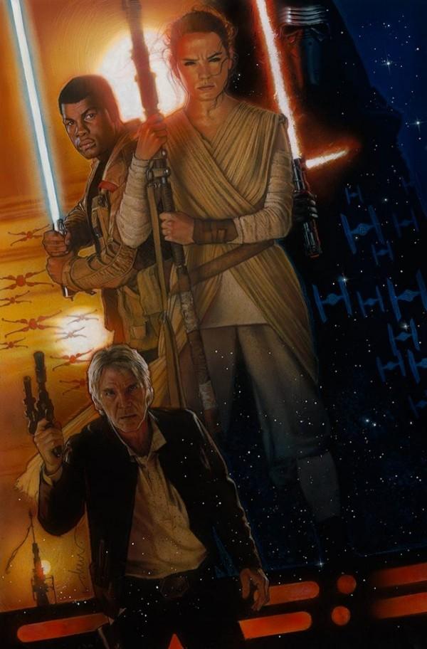 Drew Struzan - Star Wars - The Force Awakens Poster