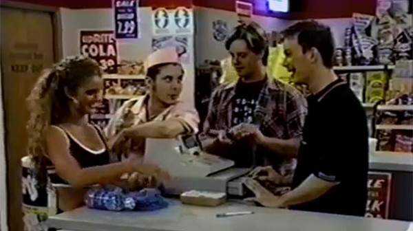 Screenshot aus der TV-Sitcom Clerks