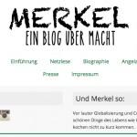 Merkel-Blog