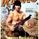"""Filmplakat zu """"Ramo"""", der türkischen Version von """"Rambo""""."""