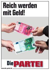 Reich werden mit Geld!