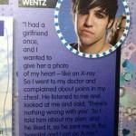 Pete Wentz und sein Röntgenherz