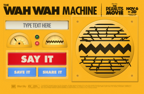 Peanuts Wah Wah Machine