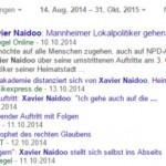 Xavier Naidoo - Nachrichten in Google News