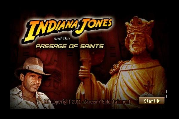 Indiana Jones and the passage of saints