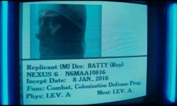 Incept Date Roy Batty