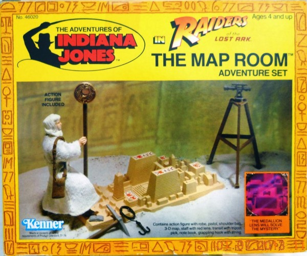 Indiana Jones - The Map Room (Kenner)
