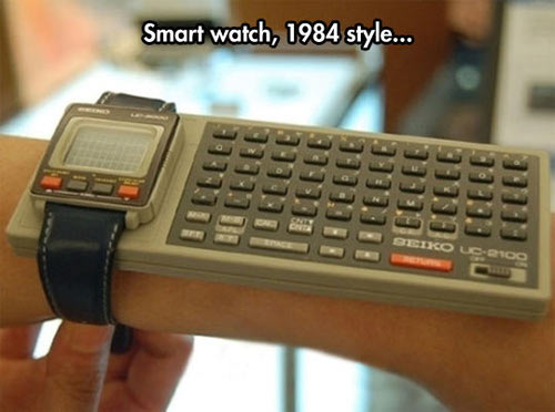 80ies Smart Watch von Seiko