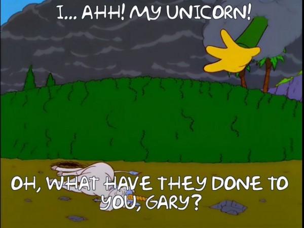 Ahhhh! MY Unicorn!