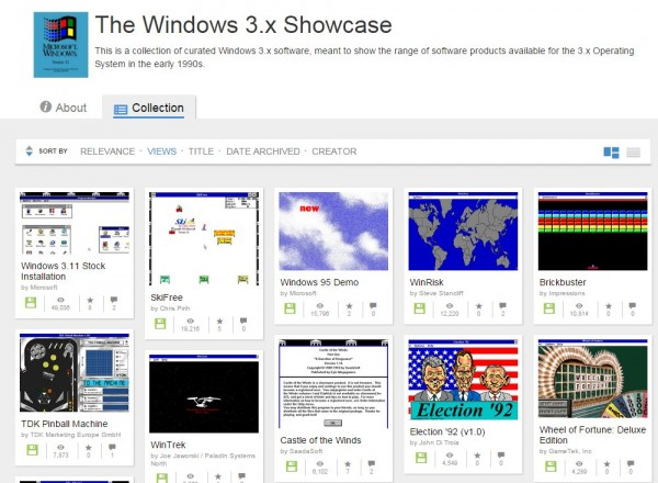 Windows 3 Showcase Screenshot