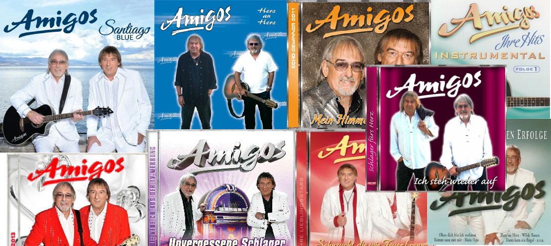 Die Discographie der Amigos