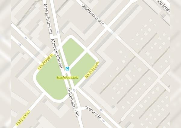 Kolonialstrassen (Google Maps)