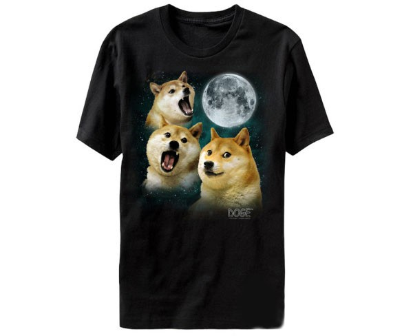 Three Doge Moon Shirt