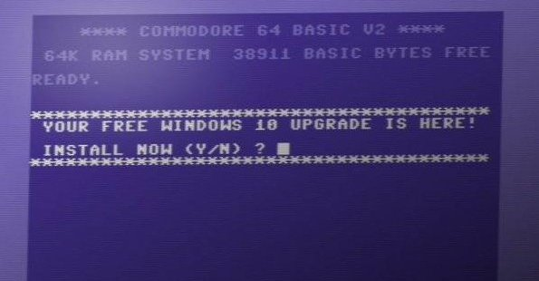 Windows 10 auf dem C64er