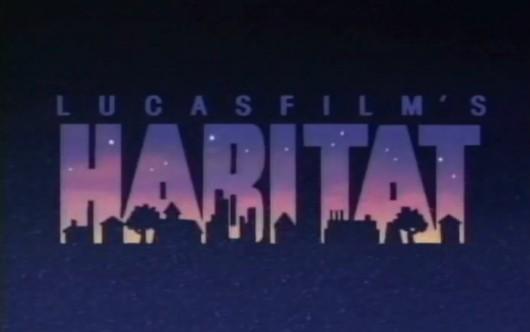 Habitat von Lucasfilm Games