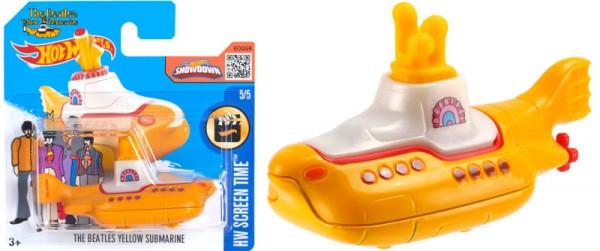 Yellow Submarine von Hot Wheels