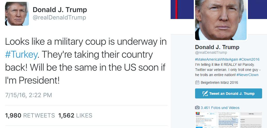 Denald Trump - Fake