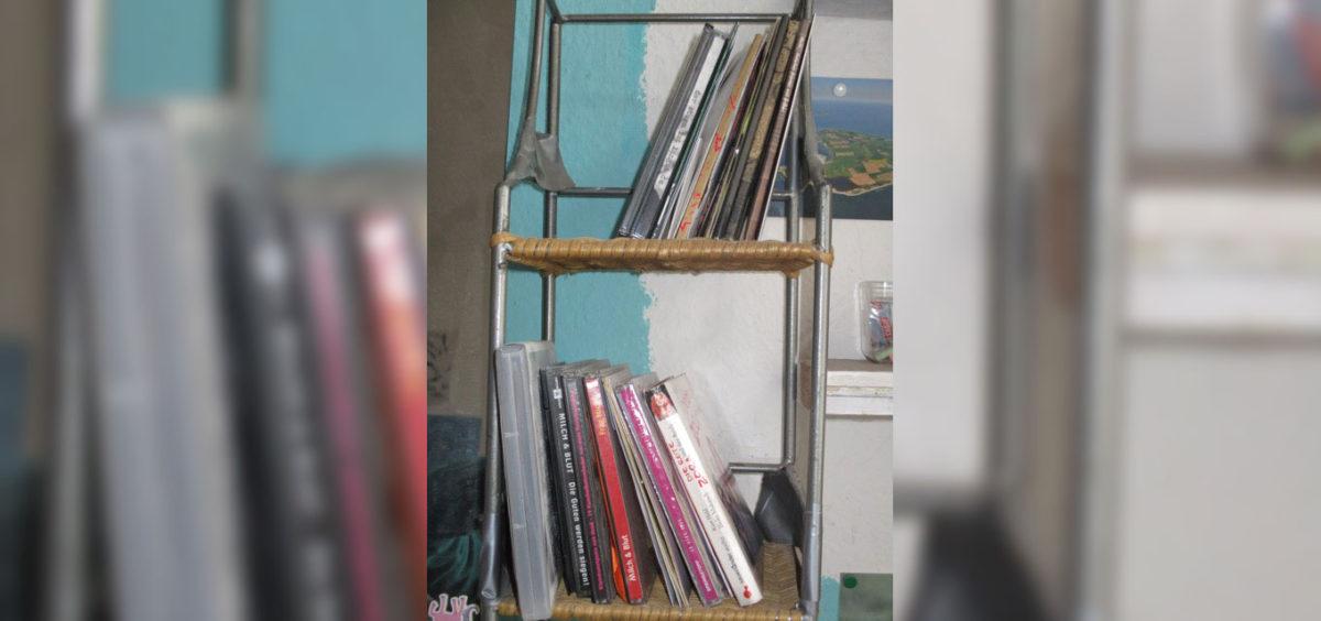 Das CD-Regal von FaulenzA
