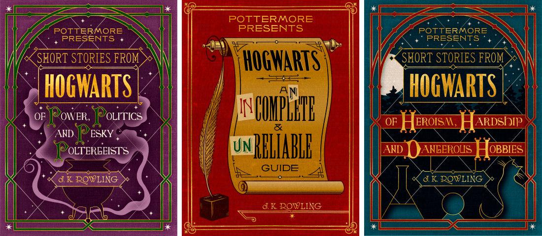Drei Bücher über Hogwarts