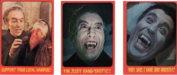 Hammer Horror Trading Cards