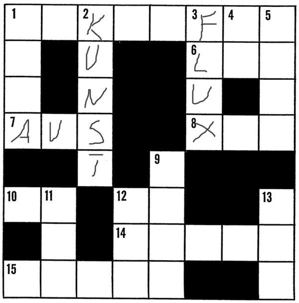 Kreuzworträtsel (Symbolbild)