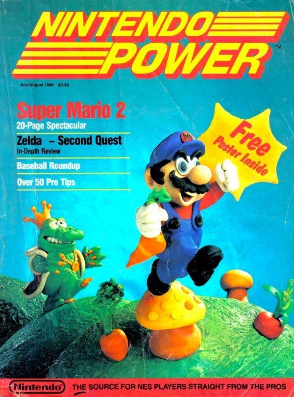 Die erste Ausgabe von Nintendo Power 1988