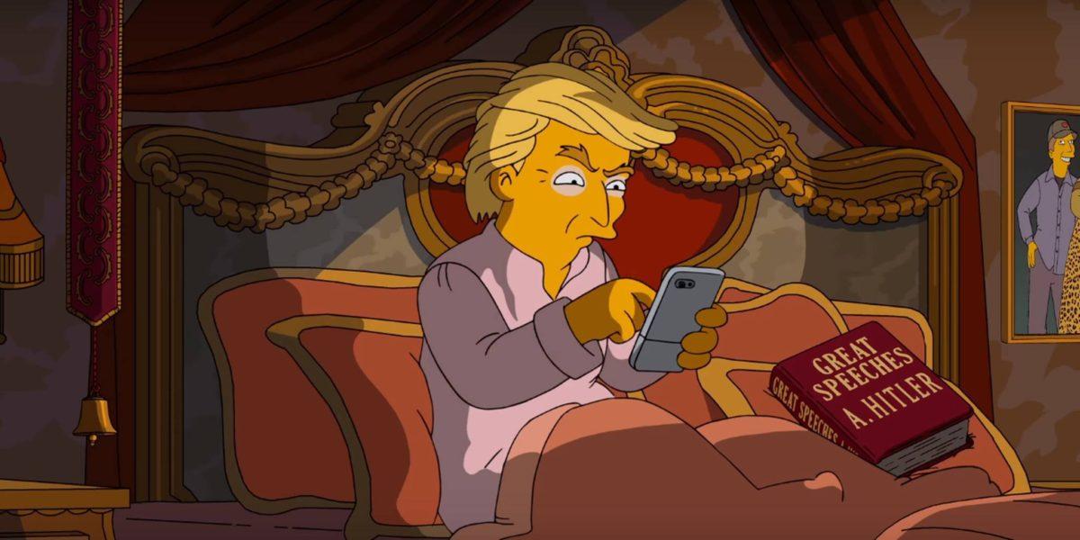 Donald Trump bei den Simpsons