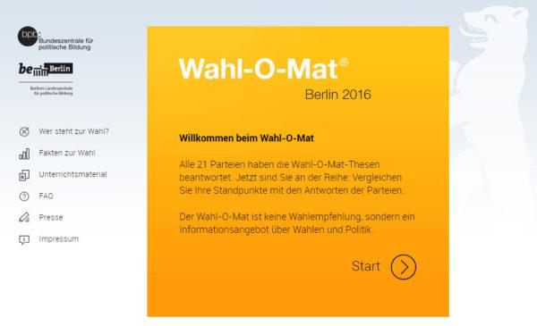 Wahl-O-Mat 2016