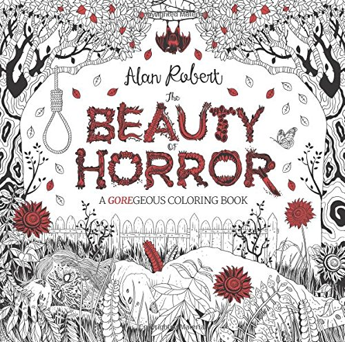 Beauty Of Horror Malbuch