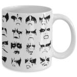 Black Metal Mug