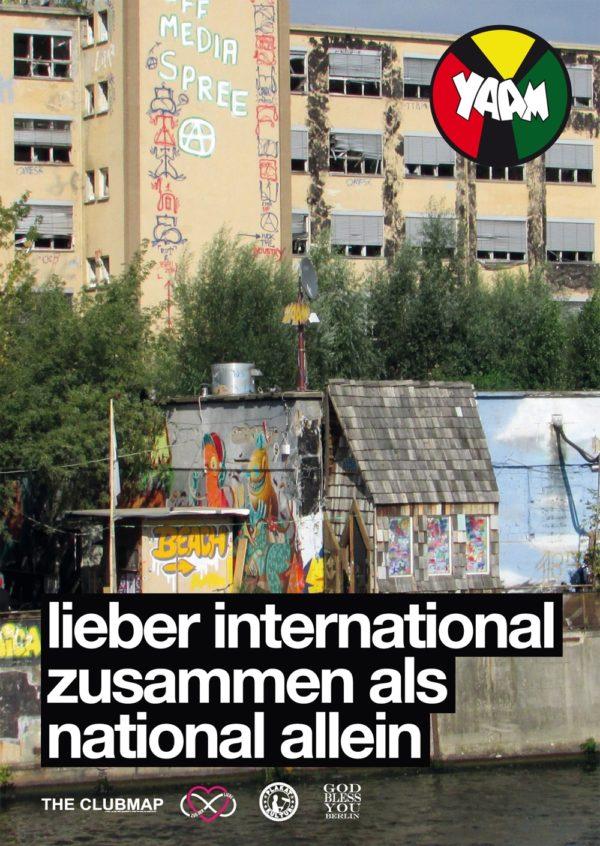 International zusammen