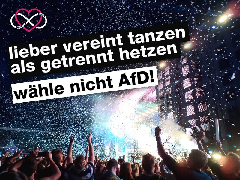 Wähle nicht AfD!